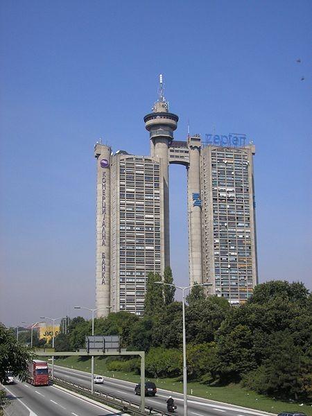 Bělehrad - Západní brána