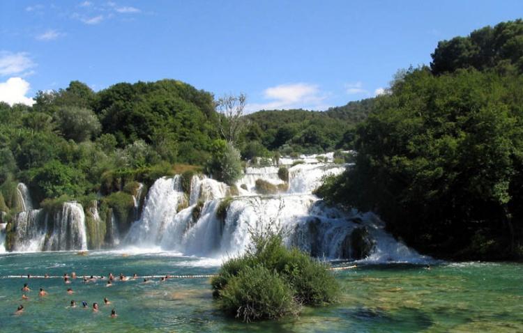 vodopády u Krky