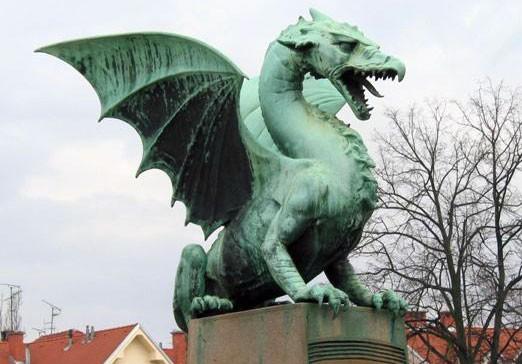 Ljubljana - drak