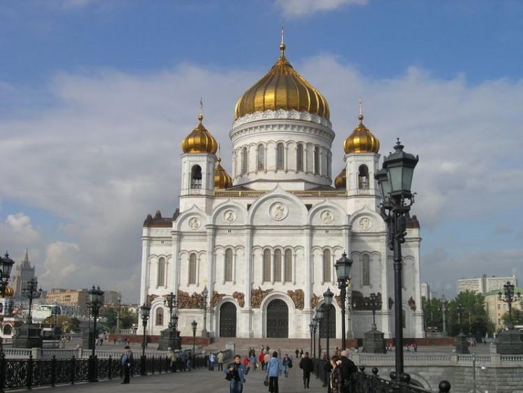 Katedrála Krista Spasitele v Moskvě