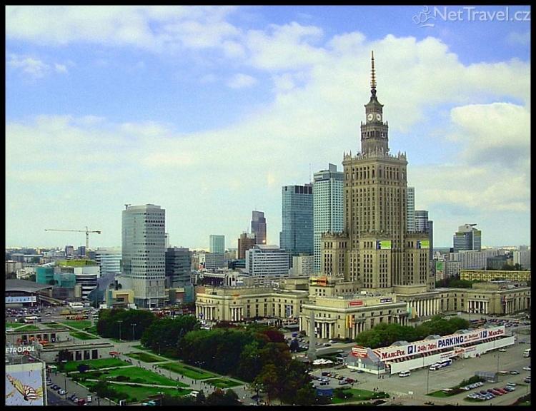 Varšava - Park kultury a vědy