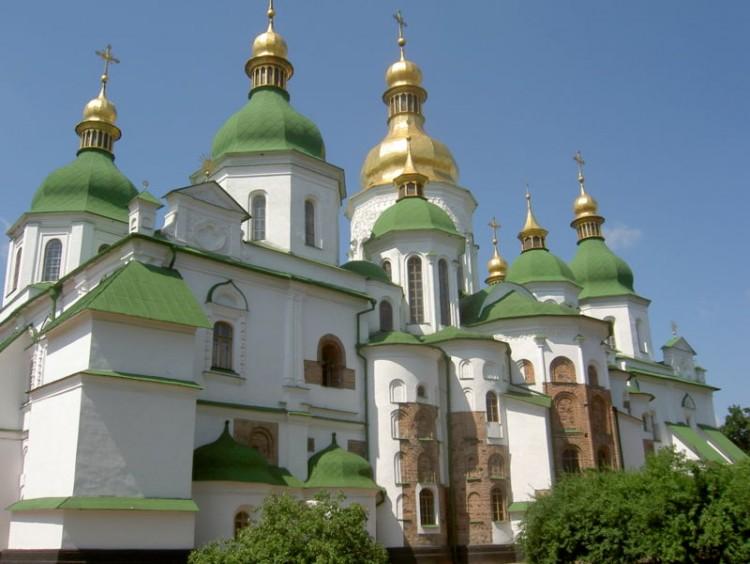 Kyjev - Katedrála sv. Sofie
