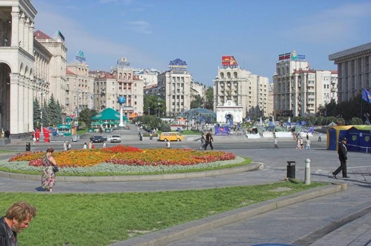 Kyjev - Náměstí svobody