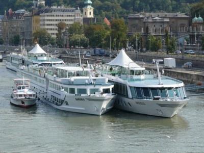říční doprava na Dunaji