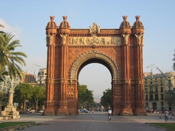 Barcelona - Vítězný oblouk